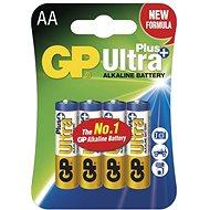Eldobható elem GP Ultra Plus LR6 (AA) 4db bliszter - Jednorázová baterie