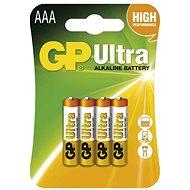 GP Ultra Alkaline LR03 (AAA) 4 db elem - Eldobható elemek