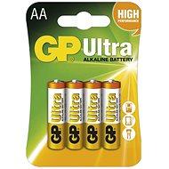 GP Ultra Alkaline LR6 (AA) 4 db a csomagban - Eldobható elem
