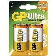 Eldobható elem GP Ultra Alkaline LR20 (D) 2 db/bliszter