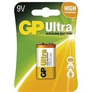 GP Ultra Alkaline 9V, 1 db - bliszter csomagolásban - Eldobható elem