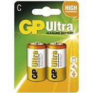 Eldobható elem GP Ultra Alkaline LR14 (C) 2 db, buborékcsomagolásban