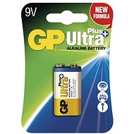 GP Ultra Plus Alkaline 9V 1db bliszter - Eldobható elem