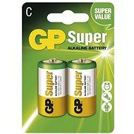 Eldobható elem GP Super Alkaline LR14 (C) 2 darab / csomag