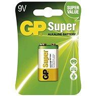 GP Super Alkaline 9V db bliszter - Eldobható elem