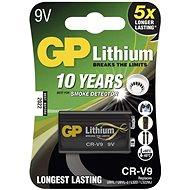 GP CR-V9 (9V), lítium, 1 db a buborékcsomagolásban - Eldobható elem