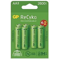GP ReCyko 2700 AA (HR6), 6 db - Akkumulátor