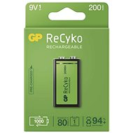 GP ReCyko 200 (9V), 1 db - Akkumulátor