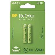 GP ReCyko 1000 AAA (HR03) újratölthető elem, 2 db - Akkumulátor
