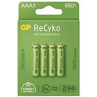 GP ReCyko 1000 AAA (HR03) újratölthető akkumulátor, 4 db - Akkumulátor
