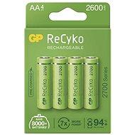 GP ReCyko 2700 AA (HR6), 4 db - Akkumulátor