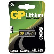 GP CR123A, lítium, 1 db a buborékcsomagolásban - Eldobható elem