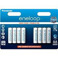 Panasonic eneloop AA 1900mAh 8db - Akkumulátor