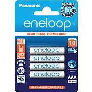 Panasonic eneloop AAA 750mAh 4 db - Akkumulátor