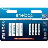Panasonic eneloop HR6 1900mAh + HR03 750mAh 8BP - Akkumulátor