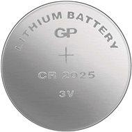 GP lítium gombelem GP CR2025 - Gombelem