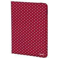 Hama Polka Dot piros, fehér pöttyökkel - Tablet tok