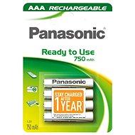 Panasonic Ready to Use AAA HHR-4MVE/4BC 750 mAh 3+1 Ingyen - Elemek