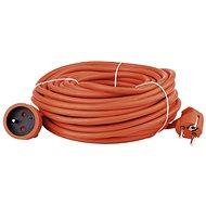 Emos hosszabbító kábel 20 m, narancssárga