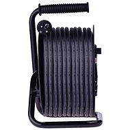 EMOS Gumi hosszabbító kábel dobon - 4 aljzat, 50 m, 2,5 mm2 - Hosszabbító kábel