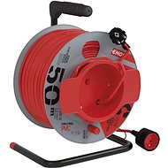 Hosszabbító kábel EMOS PVC Hosszabbító kábel dobon - 1× aljzat, 50 m, 1,5 mm2 - Prodlužovací kabel