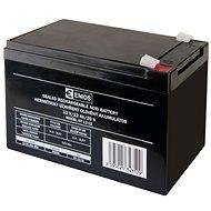 EMOS Karbantartás-mentes ólom-sav akkumulátor 12 V / 12 Ah, 6,3 mm-es rögzítéssel - Tölthető elem