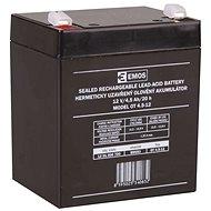 EMOS Karbantartás-mentes ólom-sav akkumulátor 12 V / 4,5 Ah, gyors 4,7 mm - Tölthető elem
