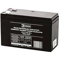 EMOS Karbantartás-mentes ólom-sav akkumulátor 12 V / 7 Ah, gyors, 4,7 mm - Tölthető elem