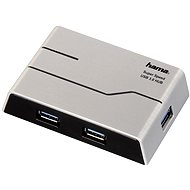 Hama USB 3.0 Hub 4 port +tápegységgel - USB Hub