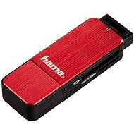 Hama USB 3.0 piros - Kártyaolvasó