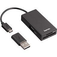 Hama USB 2.0 OTG - Kártyaolvasó