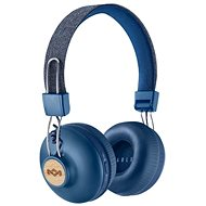 House of Marley Positive Vibration 2 wireless - denim - Mikrofonos fej-/fülhallgató