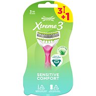 WILKINSON Xtreme3 Beauty Sensitive (4 db) - Női borotva