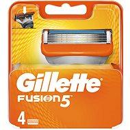 Férfi borotvabetét GILLETTE Fusion 4 db - Pánské náhradní hlavice