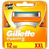 Fusion GILLETTE 12 Db - Férfi borotva cserefejek