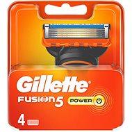 GILLETTE Fusion Power 4 db - Férfi borotva cserefejek