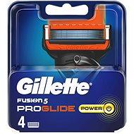 Férfi borotvabetét GILLETTE Fusion ProGlide Power 4 db - Pánské náhradní hlavice