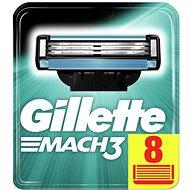 Férfi borotvabetét GILLETTE Mach3 8 db - Pánské náhradní hlavice