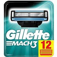 Férfi borotvabetét GILLETTE Mach3 12 db - Pánské náhradní hlavice