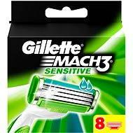 GILLETTE Mach3 Sensitive 8 db - Férfi borotva cserefejek