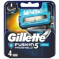 Férfi borotvabetét GILLETTE Fusion Proshield Chill 4 db - Pánské náhradní hlavice