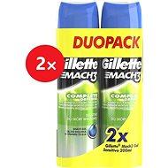 GILLETTE Mach3 Gel Sensitive 4 x 200 ml - Borotvagél