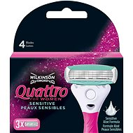 WILKINSON Quattro for Women (3 db) - Tartalék női borotvafej