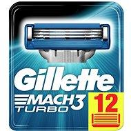Férfi borotvabetét GILLETTE Mach3 Turbo 12 db - Pánské náhradní hlavice