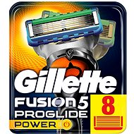 Férfi borotvabetét GILLETTE Fusion ProGlide Power 8 db - Pánské náhradní hlavice