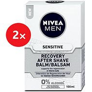 NIVEA MEN Sensitive Recovery After shave balzsam  2 × 100 ml
