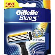 GILLETTE Blue3 6 db - Férfi borotva cserefejek