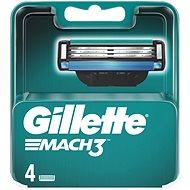 GILLETTE Mach3 4 db - Férfi borotva cserefejek
