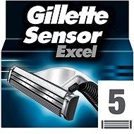 Férfi borotvabetét GILLETTE SensorExcel 5 db - Pánské náhradní hlavice