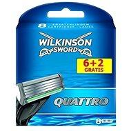 WILKINSON Quattro 8 db - Férfi borotva cserefejek